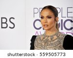 jennifer lopez at the people's... | Shutterstock . vector #559505773