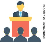 speech vector icon | Shutterstock .eps vector #559509943