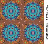 mandalas background. colorful... | Shutterstock .eps vector #559512967