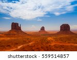iconic peaks of rock formations ...   Shutterstock . vector #559514857