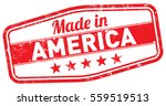 made in america stamp | Shutterstock .eps vector #559519513