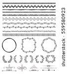 hand drawn doodle seamless... | Shutterstock . vector #559580923