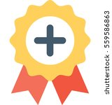 badge vector icon | Shutterstock .eps vector #559586863