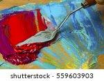 Oil Color Knife.