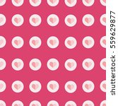 seamless pattern with simple... | Shutterstock .eps vector #559629877