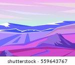 vector landscape. beautiful... | Shutterstock .eps vector #559643767