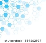 hexagons seamless pattern... | Shutterstock .eps vector #559662937