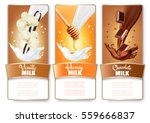 set of three labels of... | Shutterstock .eps vector #559666837