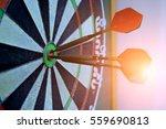 dart board  dart  sport . | Shutterstock . vector #559690813