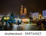 krakow  poland   december 19 ... | Shutterstock . vector #559714327