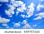 Sky   Blue Sky Background With...