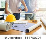architect concept  architects... | Shutterstock . vector #559760107