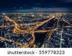 Cityscape Bangkok Downtown At...