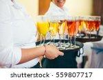 catering food wedding buffet... | Shutterstock . vector #559807717