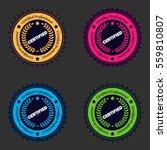 professional certified stamp... | Shutterstock .eps vector #559810807