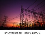 high voltage substation and...