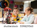 education  children  technology ... | Shutterstock . vector #559829563