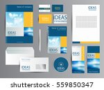 corporate identity for business. | Shutterstock .eps vector #559850347