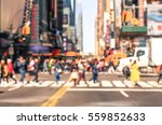 rush hour with defocused of... | Shutterstock . vector #559852633