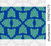 celtic heart shape vector... | Shutterstock .eps vector #559874173