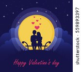 Happy Valentine's Day. Couple...