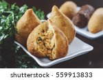 coxinha  croquete and other... | Shutterstock . vector #559913833
