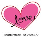 love heart | Shutterstock . vector #559926877
