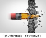 education access concept and... | Shutterstock . vector #559955257