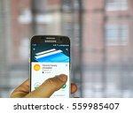 montreal  canada   december 23  ... | Shutterstock . vector #559985407