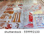 Mural In One Of Temples In The...
