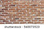 red brown brick pattern wall...   Shutterstock . vector #560073523