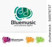 blue music  melody  tones ...
