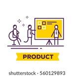 vector business illustration of ... | Shutterstock .eps vector #560129893