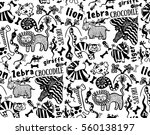 Seamless Pattern Of African...