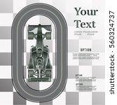 raceway. race cars   Shutterstock .eps vector #560324737