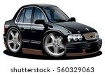 vector cartoon car. available... | Shutterstock .eps vector #560329063