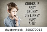 german party names for federal... | Shutterstock . vector #560370013