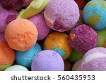 Small photo of Bath bombs, colorful