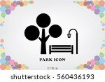 park icon vector illustration  | Shutterstock .eps vector #560436193