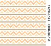 peach seamless vector pattern... | Shutterstock .eps vector #560446063