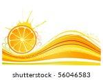 citrus background | Shutterstock .eps vector #56046583