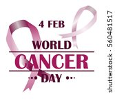 world cancer day. image... | Shutterstock .eps vector #560481517