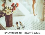 wedding day moments | Shutterstock . vector #560491333