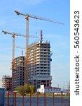 construction of a new... | Shutterstock . vector #560543623