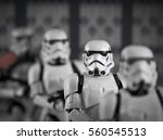 A Row Of Hasbro Black Series 6...