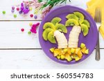 Fun Food For Kids   Fruit Palm...