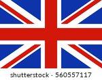 vector uk flag | Shutterstock .eps vector #560557117