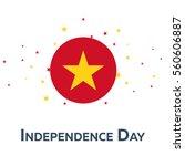 independence day of vietnam.... | Shutterstock .eps vector #560606887