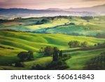 Gorgeous Greens Landscape Light Painted - Fine Art prints
