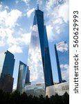 one world trade center and... | Shutterstock . vector #560629993